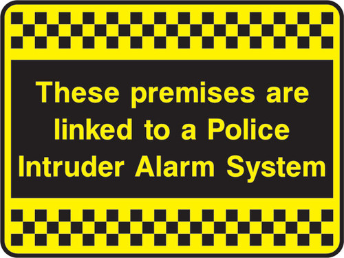 These premises are linked to a police...