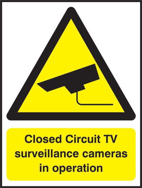 Closed circuit TV surveillance...