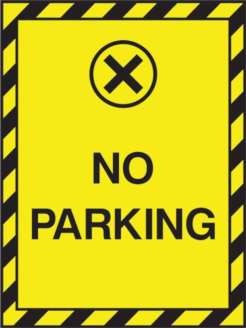 No parking sign PAR5