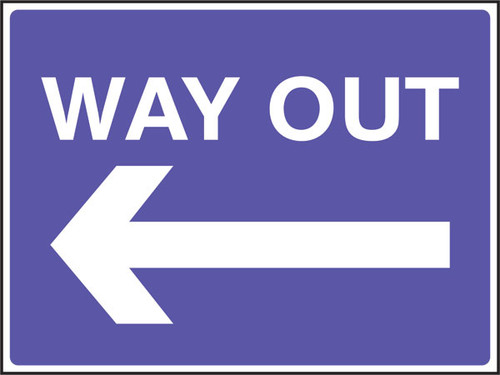 Way out left