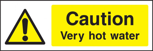 Caution very hot water..