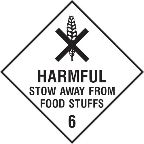 Harmful stow away from food stuffs