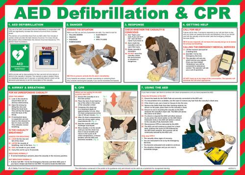AED Defibrillation & CRP
