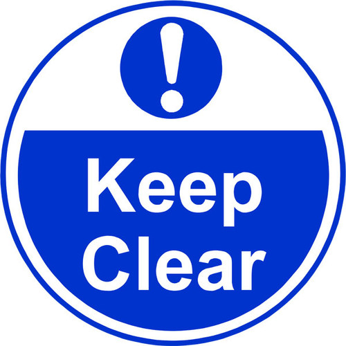 Keep clear Anti-slip