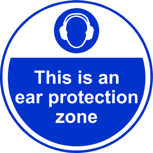 Ear protection zone Anti-slip