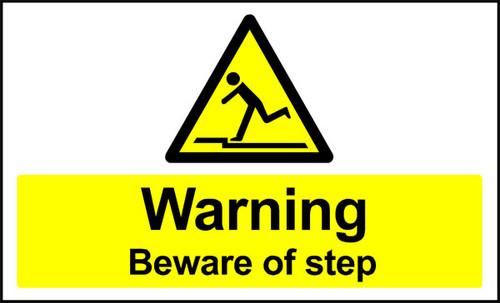 Warning Beware of Step Anti-slip