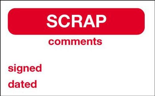 Scrap Label