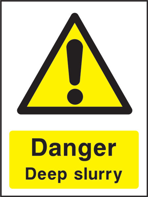 Danger Deep Slurry