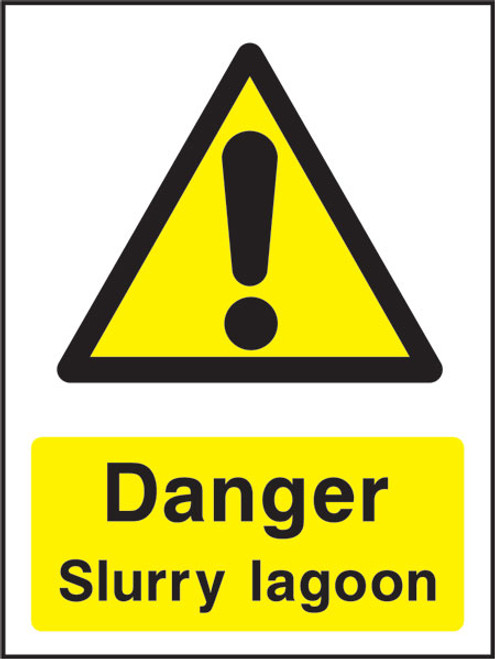 Danger Slurry Lagoon