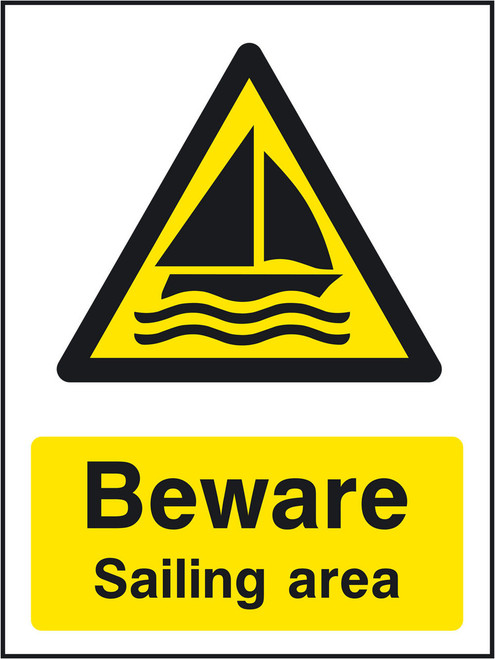 Beware Sailing area