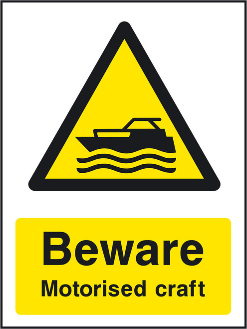 Beware Motorised craft