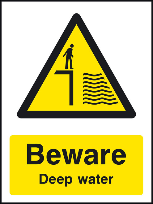 Beware Deep water