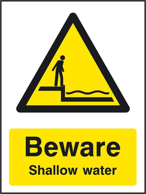 Beware Shallow water