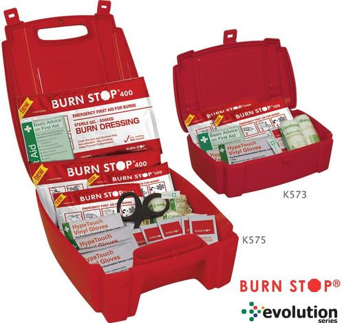Evolution Burn Stop Burns Kits
