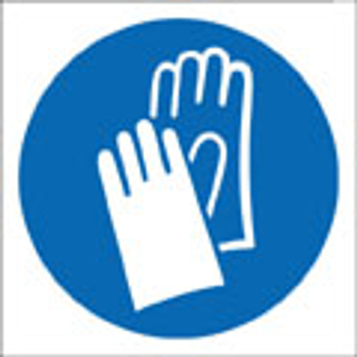 Hand protection logo