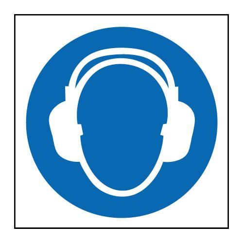Ear protection logo
