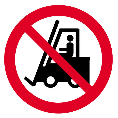 No fork lift trucks logo
