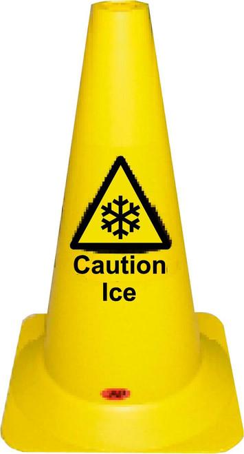 Caution Ice Yellow Cone