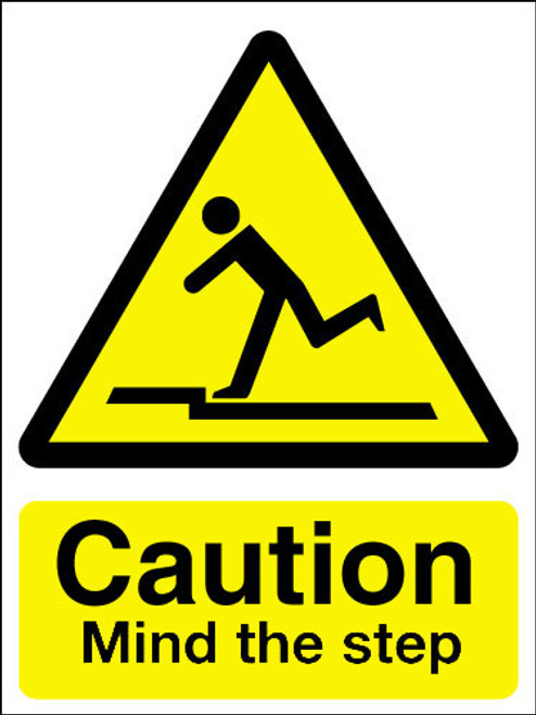 Mind The Step Sign Signs 2 Safety Uk