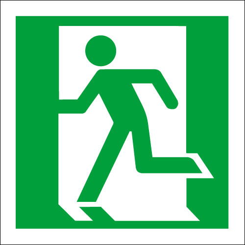 running man left fire exit logo at discount price rh signs2safety co uk exit loop when cell has certain value exit loop vba