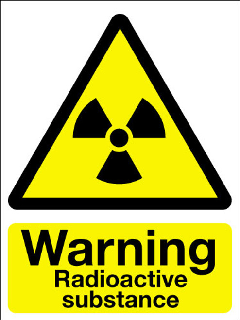 Warning Dangerous Substances Adhesive Sign Signs 2 Safety