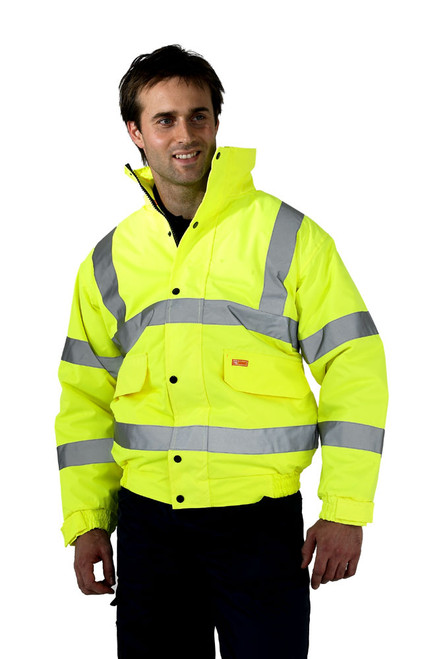 High Visibility Constructor Bomber Jacket