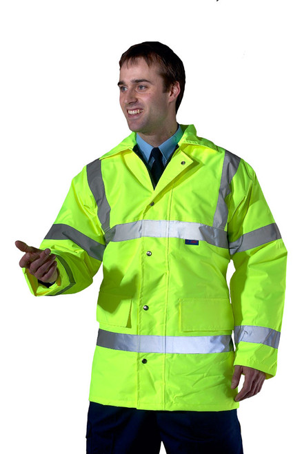 Constructor Lined Traffic Jacket