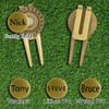 Personalized Executive Divot Tool - Choice of Font