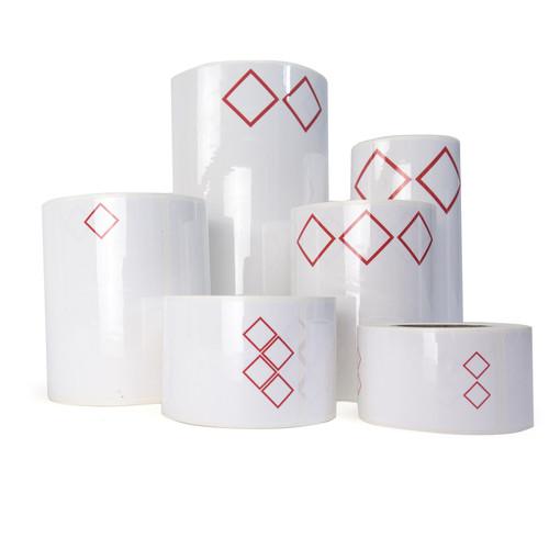 GHS Die-Cut Labels - LabelTac® 4 & LabelTac® 4 Pro