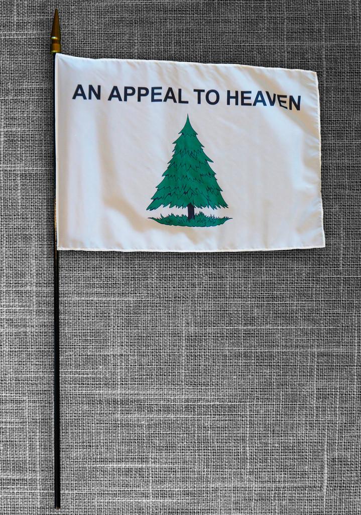 "Medium Appeal to Heaven Flag (12.75"" x 17.5"")"