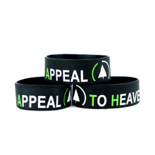 """Appeal to Heaven 1"""" Wristband (Black)"""