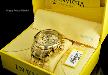Invicta 0074 Pro Diver Scuba Quartz Chronograph Stainless Steel Bracelet Watch | Free Shipping