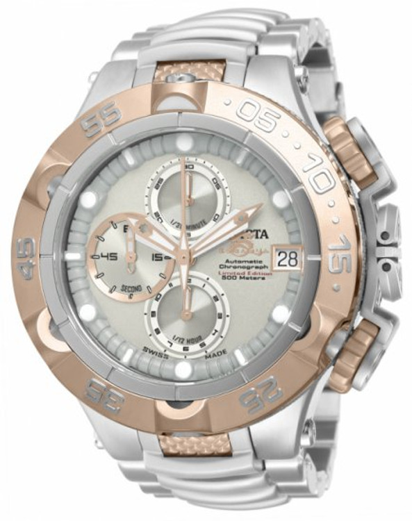 Invicta 12863 Men's Subaqua Noma V Two-Tone Limited Edition A07 Valgranges Automatic Chronograph Bracelet Watch | Free Shipping