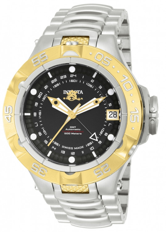 Invicta 12874 Men's Subaqua Noma V Limited Edition A07 Valgranges Automatic GMT Bracelet Watch | Free Shipping