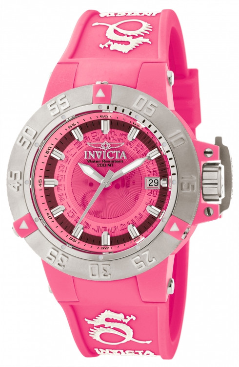 Invicta 10112 Women's Subaqua Noma III Anatomic Quartz Silicone Strap Watch   Free Shipping
