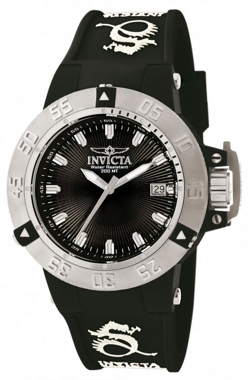 Invicta 10113 Women's Subaqua Noma III Anatomic Quartz Silicone Strap Watch   Free Shipping