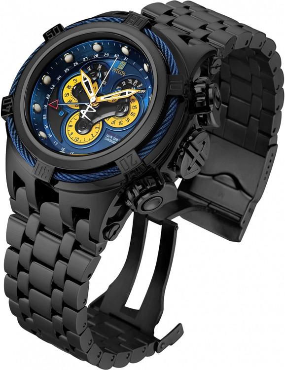 Invicta Jason Taylor Bolt Hyrbid Limited Edition Master Calendar Bracelet Watch w/3 Slot Dive Case  23607