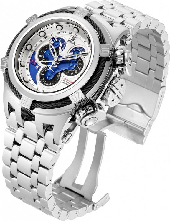 Invicta Jason Taylor Bolt Hyrbid Limited Edition Master Calendar Bracelet Watch w/3 Slot Dive Case  23606