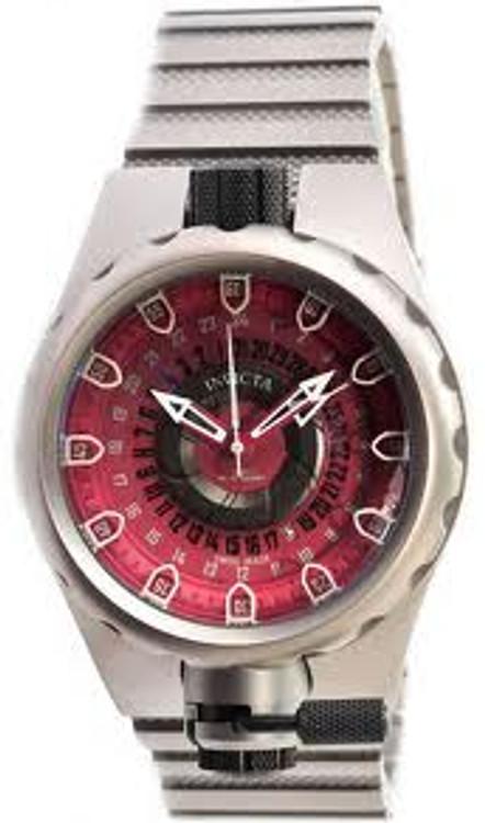 Invicta 0683 Mens Coalition Force Sniper Swiss Made Quartz GMT Titanium Bracelet Watch | Free Shipping