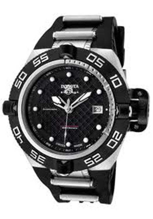 Invicta 0521 Subaqua Noma IV Swiss Made AUTOMATIC Mid-Size Poly Strap Watch | Free Shipping