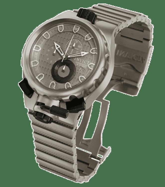 Invicta 0677 Mens Coalition Force Sniper Swiss Made Quartz Chronograph TITANIUM Watch | Free Shipping
