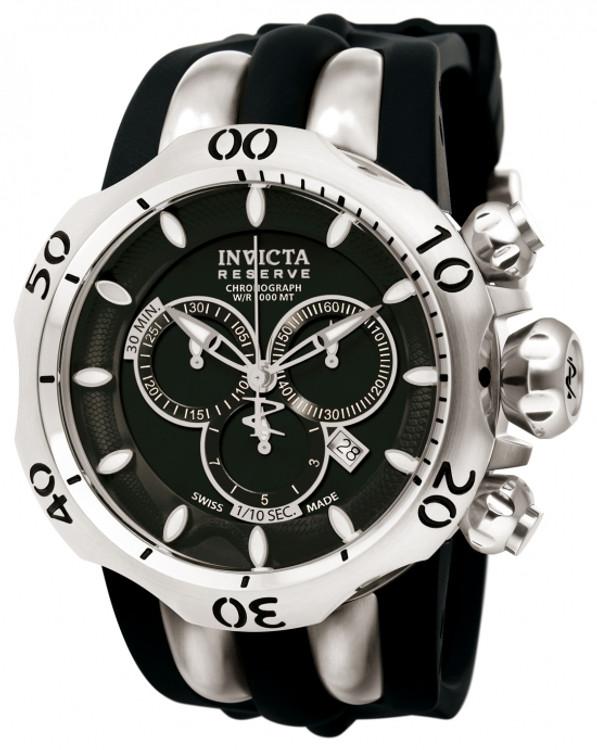 Invicta 10825 Reserve Men's Venom Fang Swiss Quartz Chronograph Stainless Steel Watch | Free Shipping