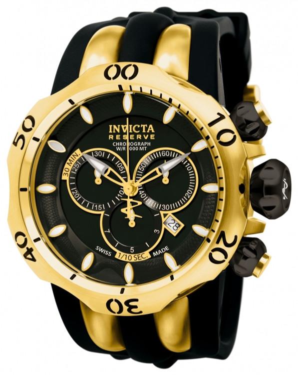 Invicta 10833 Reserve Men's Venom Fang Swiss Quartz Chronograph Stainless Steel Watch | Free Shipping