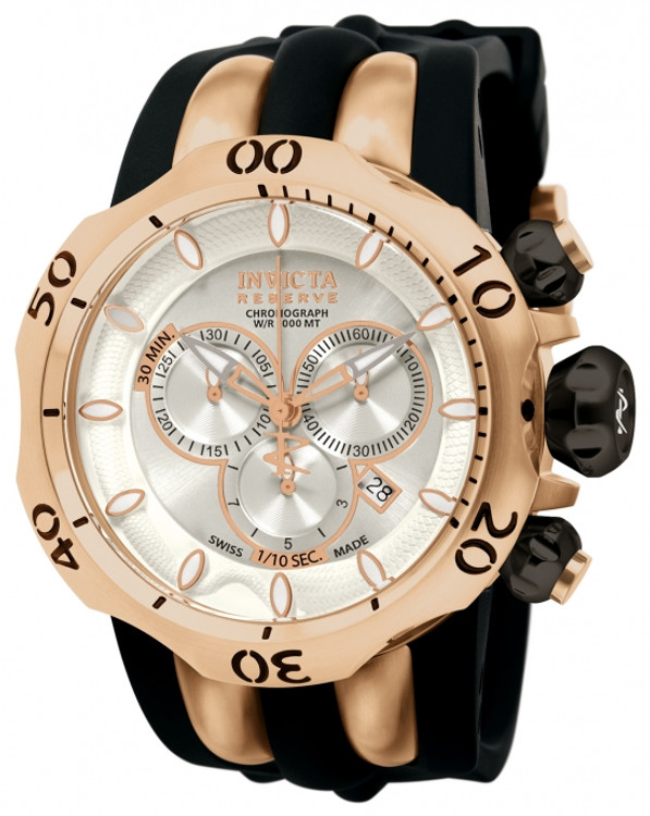 Invicta 10832 Reserve Men's Venom Fang Swiss Quartz Chronograph Stainless Steel Watch | Free Shipping