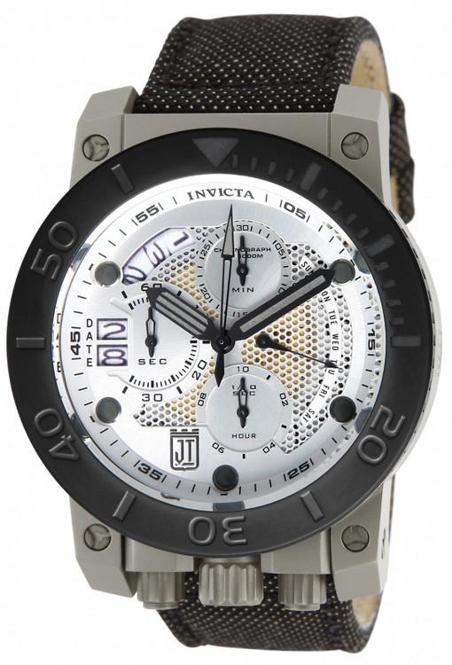 Invicta 13052 Jason Taylor Corduba Titanium Case Kevlar Strap Watch | Free Shipping