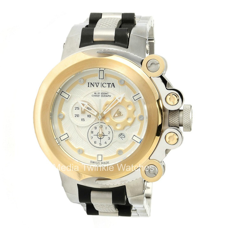 Invicta 11655 Coalition Forces Swiss Made Chronograph Stainless Steel Bracelet Watch | Free Shipping