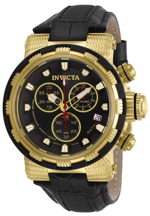Invicta 11232 Reserve Men's Capsule Swiss Quartz Chronograph Strap Watch   Free Shipping