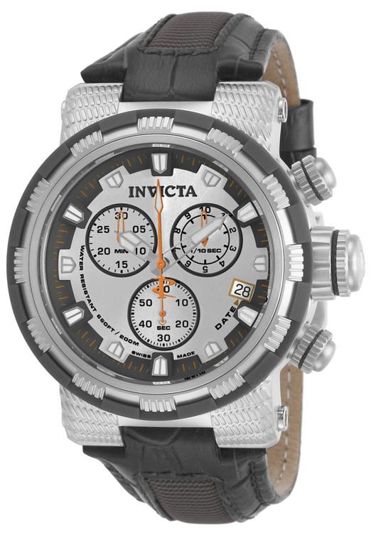 Invicta 11228 Reserve Men's Capsule Swiss Quartz Chronograph Strap Watch   Free Shipping