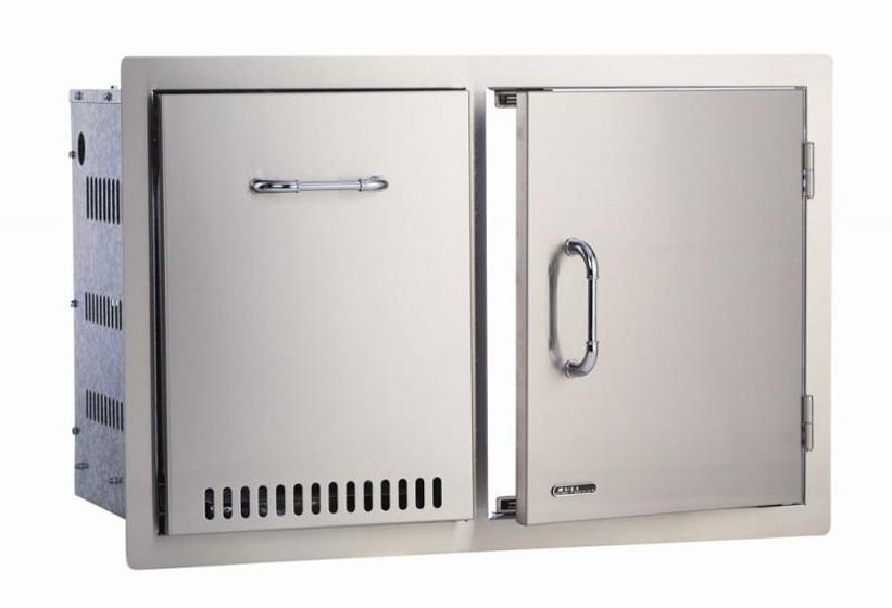 65784 Stainless Steel Door / Propane Drawer Combo