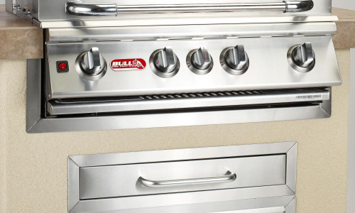 """49328 30"""" Grill Finishing Frame, Stainless Steel"""